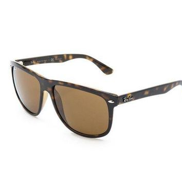Kalete NEW Genuine Ray Ban RB4147 710 57 Dark Havana Mens Sunglasses Glasses