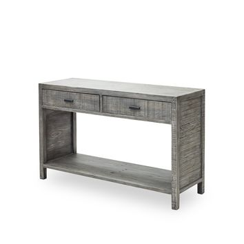 RICHARD CONSOLE TABLE -  RUSTIC BLACK OLIVE