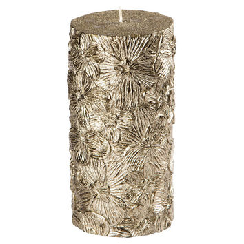 Madhouse Black Orchid Pillar Candle, Pillars