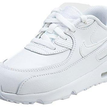Nike Boy's Air Max 90 Leather (TD) Shoes womens shoes nike air max