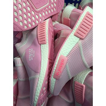Best Online Sale Adidas NMD Mid City Sock Pink Boost Sport Running Shoes Classic Casua