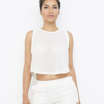 GET TO IT TRACK SHORTS SET - IVORY