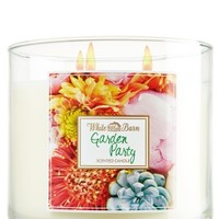 14.5 oz. 3-Wick Candle Garden Party