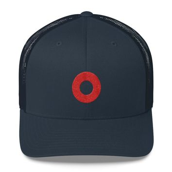 Phish Red Donut Embroidered Circle Phan Hat Trucker Cap