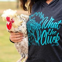 What the Cluck Unisex Fit Hoodie