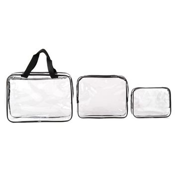 Environmental Protection PVC Transparent Cosmetic Bag