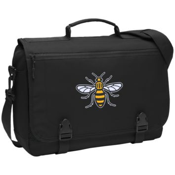 Manchester Bee Messenger Briefcase