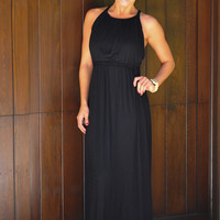 Ain't No Stoppin' Me Maxi Dress: Black | Hope's