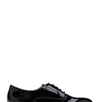 FOREVER 21 Faux Patent Leather Oxfords