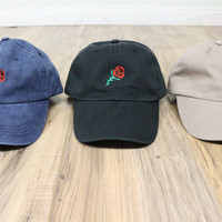 Rose Dad Hats