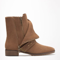 Bershka fashion flat ankle boots