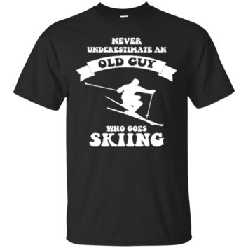 Never underestimate an old guy skiing 4593 - ski