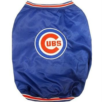 Chicago Cubs Pet Dugout Jacket