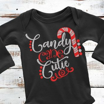 Candy Cane,Candy Cane SVG,Christmas Shirt,Candycane SVG,Kids Christmas Shirt,Candy Cane Cutie,Cricut Designs,Silhouette Designs