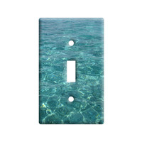 Water - Ocean Waves Light Switch Plate Cover