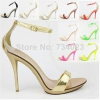 Aliexpress.com : Buy New arrived Vogue 10 Color women T stage Clasic Dancing High Heel Sandals/party wedding shoes/free shipping/wholesale and retail from Reliable wedding sandals shoes suppliers on Miss fairy's store | Alibaba Group