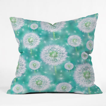 Lisa Argyropoulos Wishes Outdoor Throw Pillow