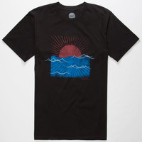 O'neill Sunrise Mens T-Shirt Black  In Sizes