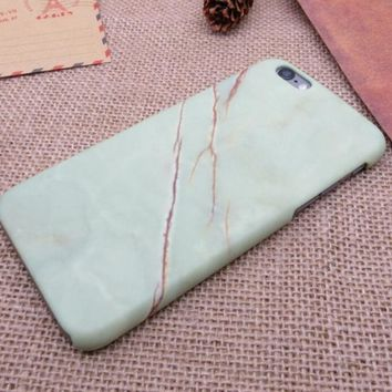 Newest Natural Marble Best Protection iPhone 7 7 Plus & iPhone 6 6s Plus & iPhone 5s se Case Personal Tailor Cover + Gift Box-170928