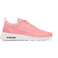 Nike - Air Max Thea croc-effect leather-trimmed coated mesh sneakers