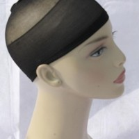 NEW Excellent Quality Black 2 X NYLON WIG CAP FOR MEN & WOMEN –UK SELLER