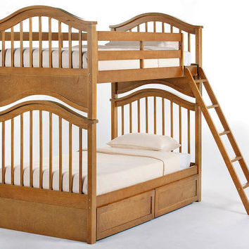 Griggs Twin over Twin Bunk Bed
