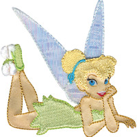 Disney Fairies Iron-On Applique-Tinker Bell