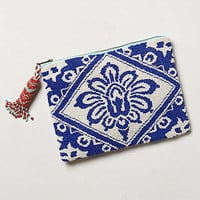 Anthropologie - Beaded Bali Pouch