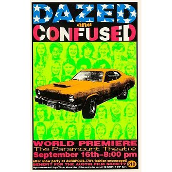 Dazed And Confused Movie poster 24inx36in Poster 24x36
