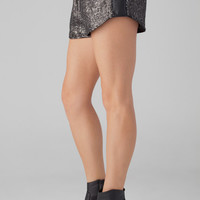 lovers + friends Quinn Shorts in Gun Metal
