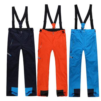 High Quality Winter Ski Pants Men Thicken Warm Snowboard Pants Snow Trousers Thermal Waterproof Hiking Camping Softshell Outdoor Sport Clothes XXL