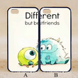 Different Best Friends Forever Couple Case,Custom Case,iPhone 6+/6/5/5S/5C/4S/4,Samsung Galaxy S6/S5/S4/S3/S2