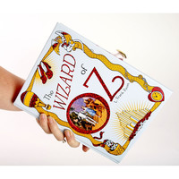 Wizard of Oz Book Clutch