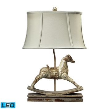 93-9161-LED Carnavale Rocking Horse LED Table Lamp in Clancey Court Finish - Free Shipping!