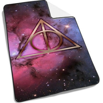 Nebula Harry Potter Symbol Deathly Hallows Blanket