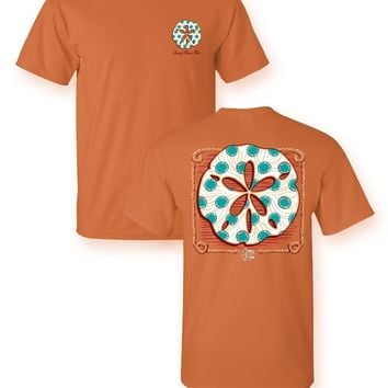 Sassy Frass Sand Dollar Beach Bright Girlie T Shirt