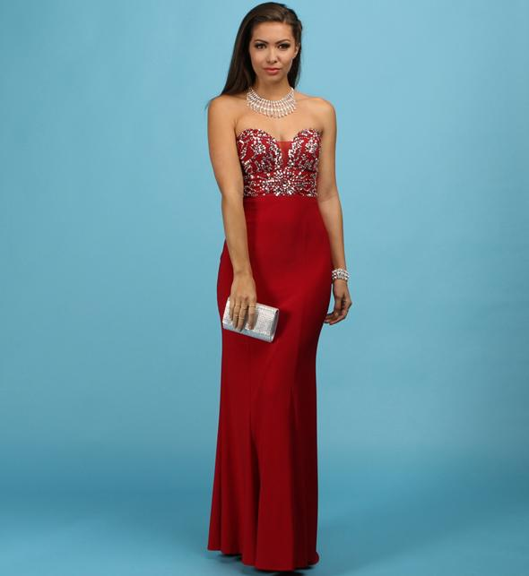 1c5e5a193d Hattie- Red Homecoming Dress from Windsor