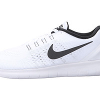 Nike Free RN White/Black - Zappos.com Free Shipping BOTH Ways