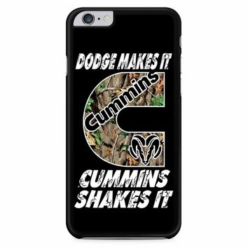 Dodge Makes It Cummins Shakes It iPhone 6 Plus / 6S Plus Case