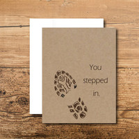 Like a Dad Card - A Beautiful Card for a Step Dad or Father-in-Law