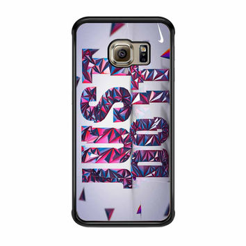 Just Do It Nike Custom Bright Samsung Galaxy S6 Edge Case