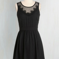 LBD Mid-length Sleeveless A-line In the Thrill of the Night Dress