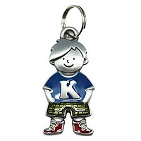 Initial Kid's Tag - Boy - K by Ganz