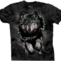 The Mountain Men's Breakthrough Wolf Short Sleeve T-Shirt