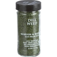 Morton And Bassett Seasoning - Dill Weed - .8 Oz - Case Of 3