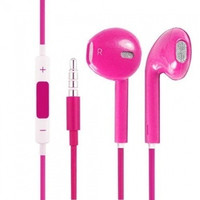 Ear pods earphones headphones for Apple iPhone 5G 5C iPad 3 4 iPad mini iPod touch 5 - Pink = 1696888708