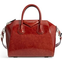 Givenchy Small Antigona Glazed Leather Satchel | Nordstrom