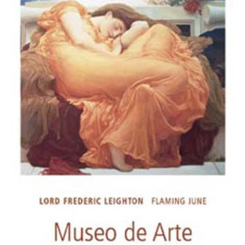 Frederic Leighton Flaming June Art Poster 24x36