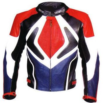 Patriot Motorcycle Leather Jacket