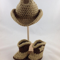Baby Cowboy Outfit - Baby Cowboy Hat and Boots - Infant Cowboy Outfit - Baby Western Wear - Baby Western Outfit - Western Wear Baby